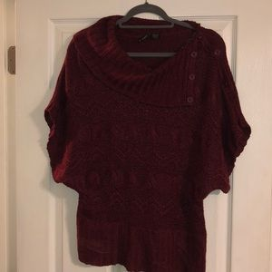 New Directions Cowl Neck Sweater